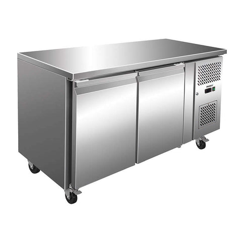 Husky 205L Double Door Prep-Counter Fridge - CPUC2-AU-AL - OzCoolers