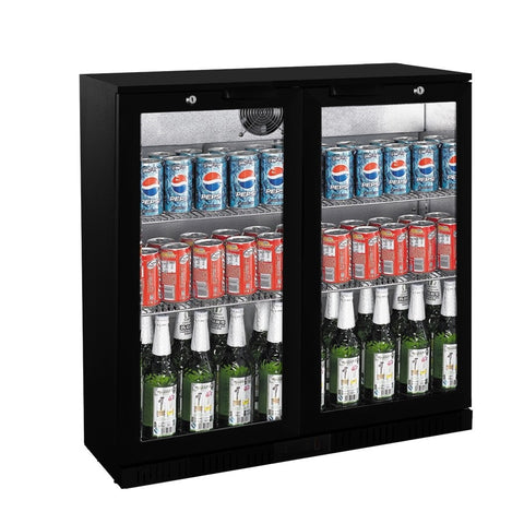 FED Under Counter Two Door Bar Cooler  LG-208HC