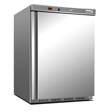 Husky 145L Single Solid Door Commercial Freezer FSS2H-SD-HT - OzCoolers