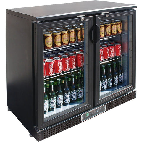 FED Two Door Drink Cooler - SC248G - OzCoolers