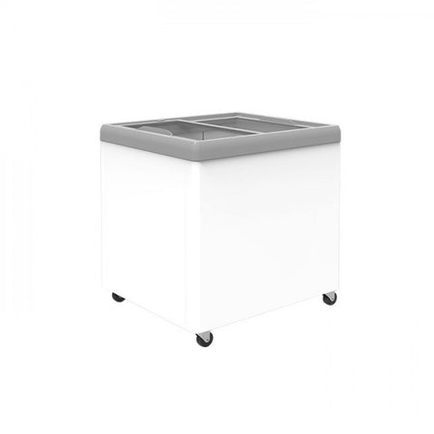 Exquisite Glass Flat Top Chest Freezer - SD650