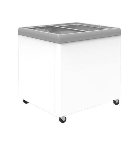 Exquisite Glass Flat Top Chest Freezer - SD250