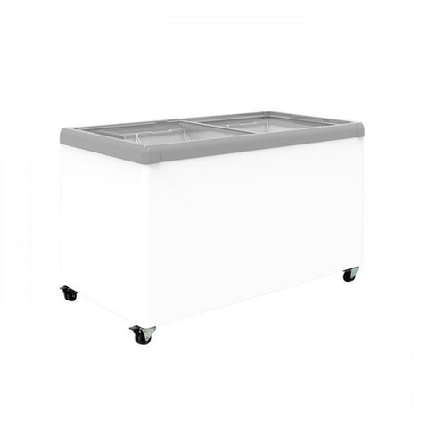 Exquisite Glass Flat Top Chest Freezer - SD450