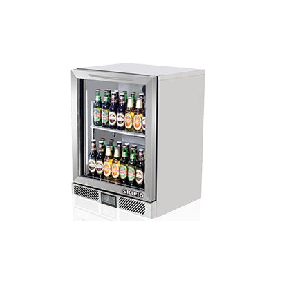 Skipio Back Bar Chiller - 1 Glass Door - SB6-1G