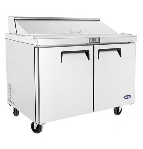 Atosa Sandwich Prep Table 2 Door Refrigerator 379L - MSF8302