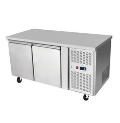 Atosa 2 Solid Doors Undercounter Bench Freezer Stainless Steel - EPF3462