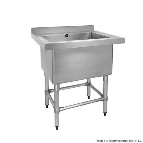 FED Stainless Steel Single Deep Pot Sink - 770-6-SSB