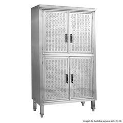 FED Upright Stainless Steel Storage Cabinet - USC-6-1000