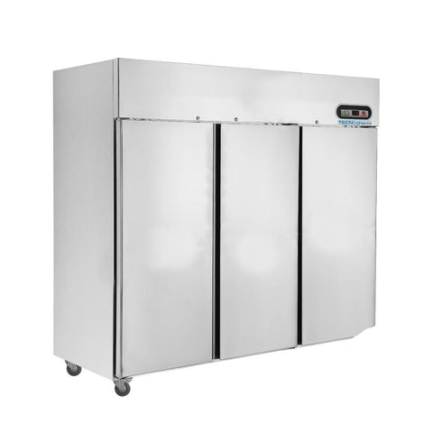 FED TROPICAL Thermaster 3 Door SS Fridge 1500L - SUC1500