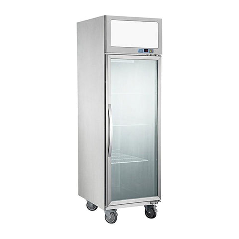 FED Single Door Upright Display Fridge - SUCG500 - OzCoolers