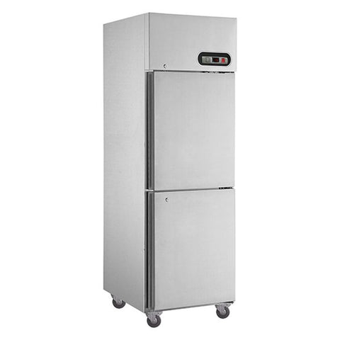 FED Stainless Steel Freezer 2 × ½ door 500 Litre - SUF500 - OzCoolers
