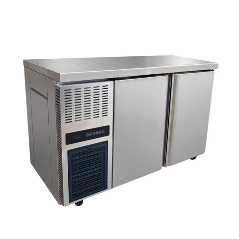 FED Stainless Steel Double Door Workbench Freezer - TS1200BT