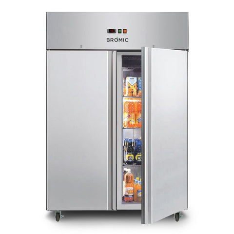 Bromic Gastronorm Stainless Steel 1300L Upright Storage Chiller - UC1300SD - OzCoolers
