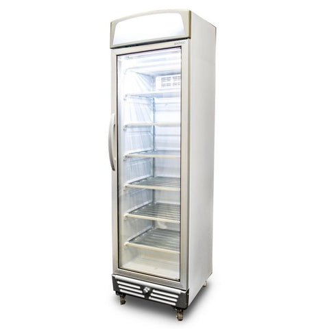 Bromic LED Flat Glass Door 300L Upright Display Freezer with Lightbox - UF0374LS - OzCoolers