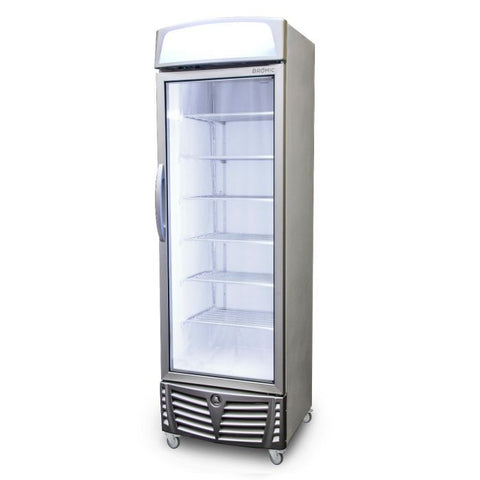 Bromic LED Flat Glass Door 440L Upright Display Freezer with Lightbox - UF0440LS - OzCoolers