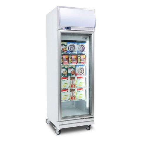 Bromic Flat Glass 444L LED Upright Display Freezer - UF0500LF - OzCoolers
