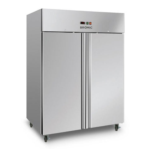 Bromic Gastronorm Stainless Steel 1300L Upright Storage Freezer - UF1300SDF - OzCoolers