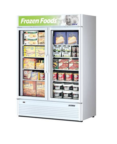 Austune Turbo Air Super Deluxe 2 Door Display Freezer 1048L – TGF-35SD (B)(W) - OzCoolers