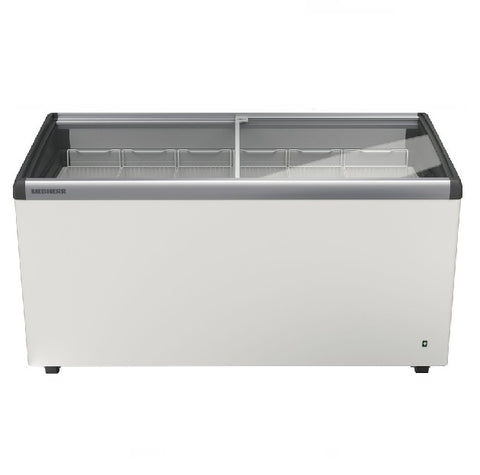 Liebherr Curved Sliding Glass Lid Chest Freezer 488L - EFI 4853