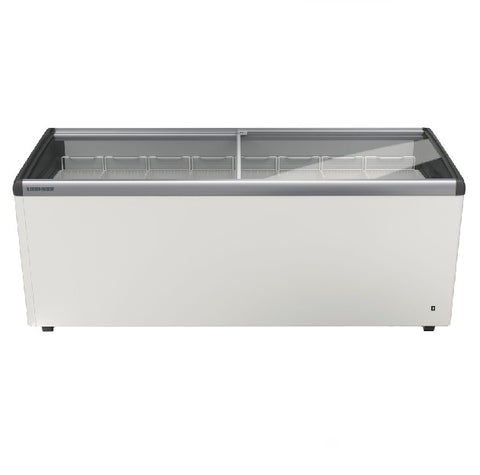 Liebherr Curved Sliding Glass Chest Freezer 558L - EFI 5653