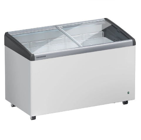 Liebherr Curved Sliding Glass Lid Chest Freezer 347L - EFI 3553