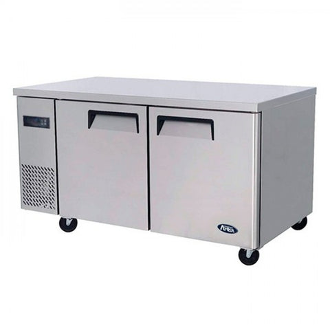 Atosa Undercounter 2 Door Freezer 1500mm 280L - YPF9035 - OzCoolers