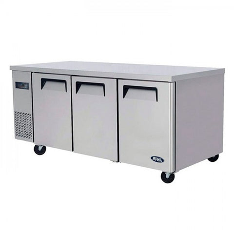 Atosa Undercounter 3 Door Freezer 1800mm 360L - YPF9045 - OzCoolers