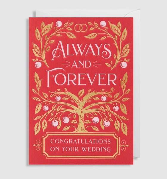 Greetings Card Congratulations Wedding