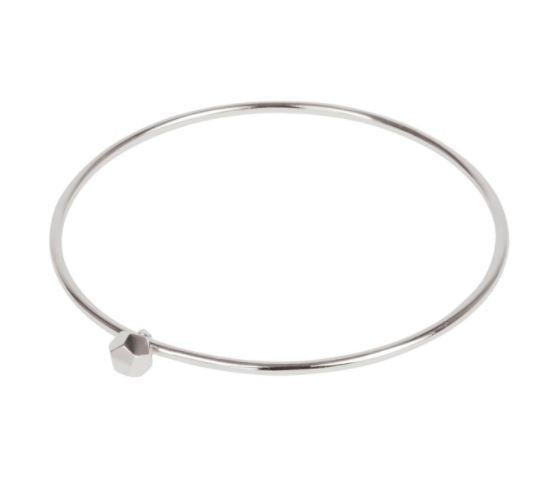 Bangle Silver Dodecahedron