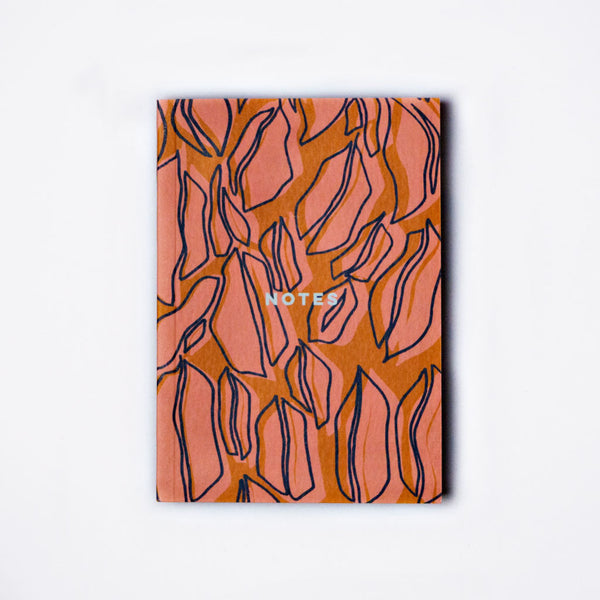 Notebook Weekly Planner Hot Lips Burnt Orange