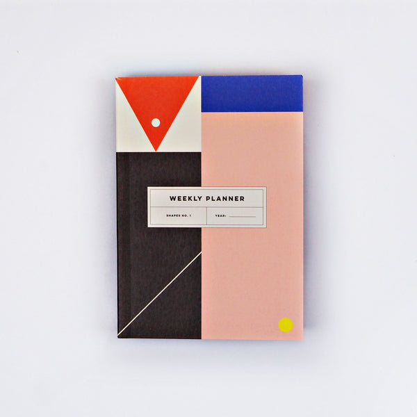 Shapes No.1 Pocket Weekly Planner Book