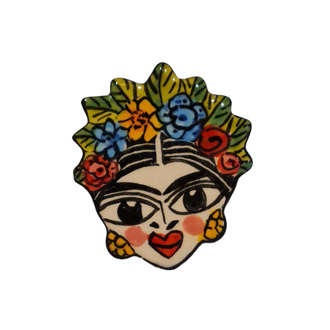 Rich warm chestnut brown coloured shopper made from linen and featuring a cross body strap.