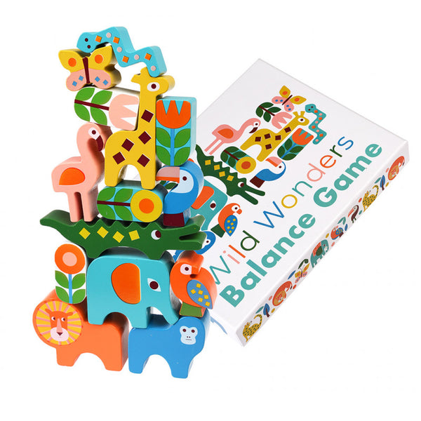 Wild Wonders Balance Wooden Toy Game