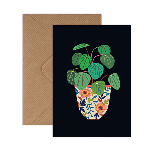 Pilea Greetings Card
