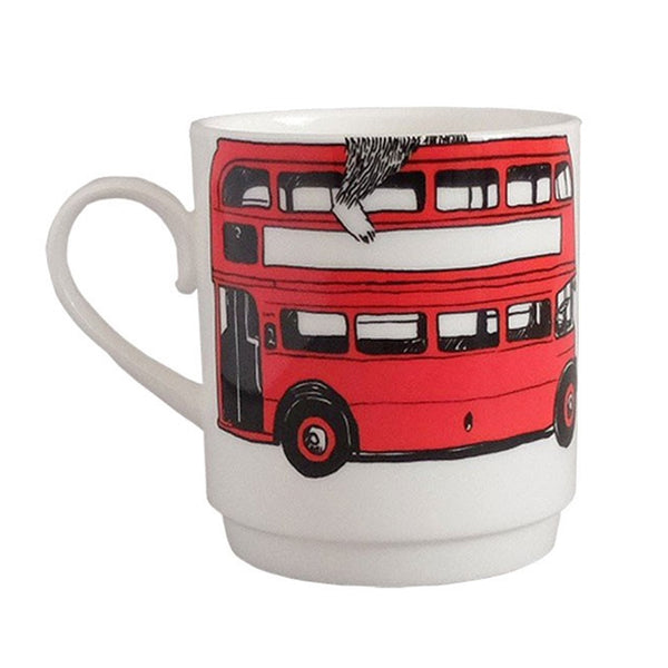 Stacking Cup China Red Bus
