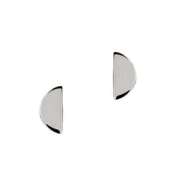 Disc Stud Silver