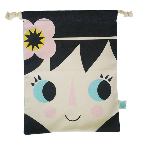 Children's Cotton Drawstring Bag Fiona