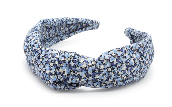 Knot Headband Padded Liberty Print Pepper R