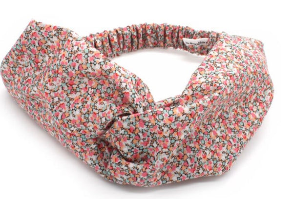 Liberty print knot headband.