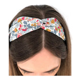 Betsy Pink Liberty Print Twist Headband