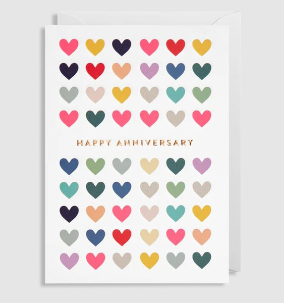 Greetings Card Happy Anniversary