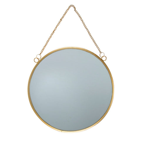 Mirror Round On Chain Gold