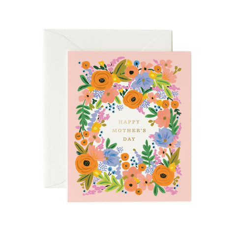 Mother's Day Card Floral