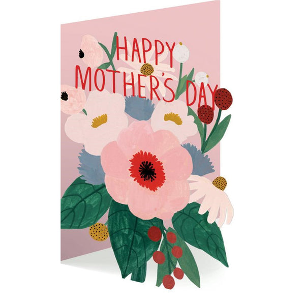 Mothers Bouquet Card