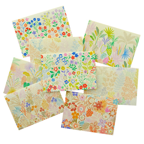 Notecards Pack Of Botanical Cards