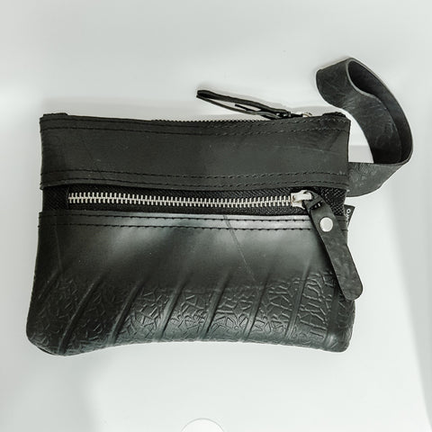Upcycled Vegan Rubber Pouch