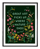 Chagall Quote Art Print Rifle Paper Co.