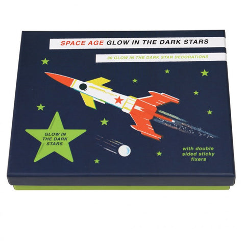 Space Age Glow In The Dark Stars