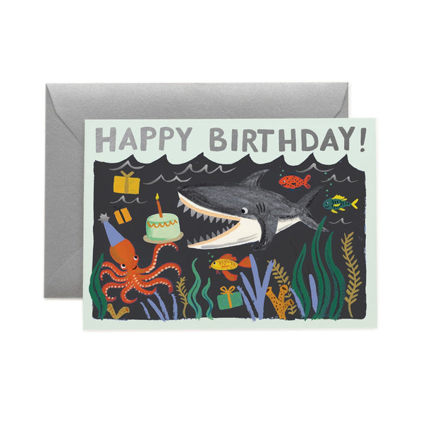 Happy Birthday Card Shark