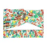 Spring Orchard Liberty Print Twist Headband